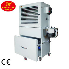 China Multifunction Garage Oil Heater 80-120 Kw Window Shades Design Easy Moving supplier