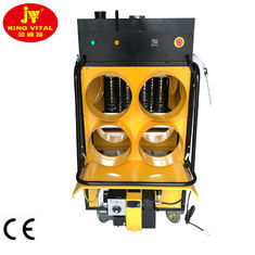 China 100L Oil Tank On Top 4 Warm Air Outlet Portable Waste Oil Heater For Chicken supplier