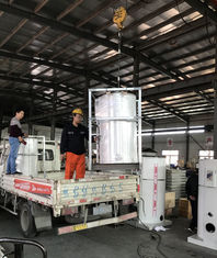 China Vertical Waste Oil Burner Fired Hot Water Boiler High Performance Easy Installation supplier