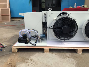 China Fully Automatic KVH 1000 Waste Oil Heater Hanging Type Two Fan System factory