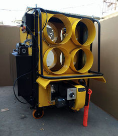 400000 Btu / H Portable Air Heater Double Fan System ODM / OEM Available