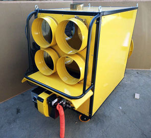 China Patented Portable Waste Oil Heater 6-8 Liter Per Hour For Airport Melting Ice factory