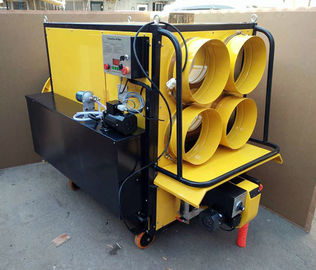 KVH 6000 Waste Motor Oil Heater 6 - 8 Liter Per Hour Double Fan Motor