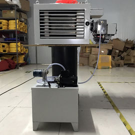 China Light Waste Oil Burning Heater , Hot Air Generator 14 - 55 Kw Output Power factory